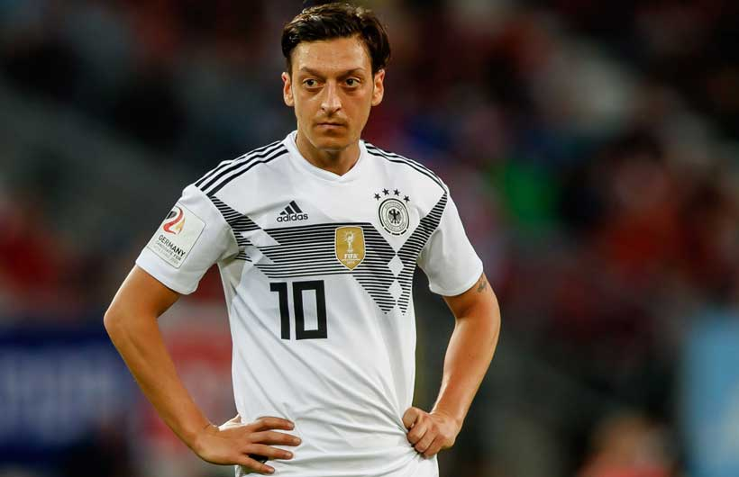 Mesut Ozil Germany no.10